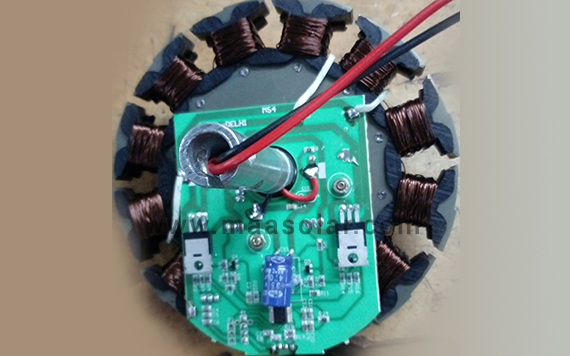 BLDC 12V Micro Controller with Stamping